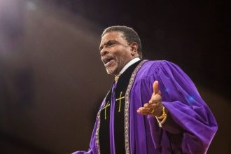 Keith David as Bishop James Greenleaf