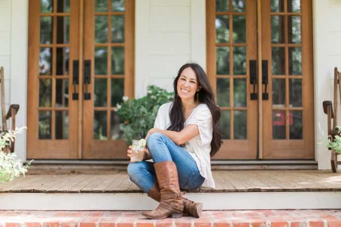 Joanna Gaines at Magnolia Makeover