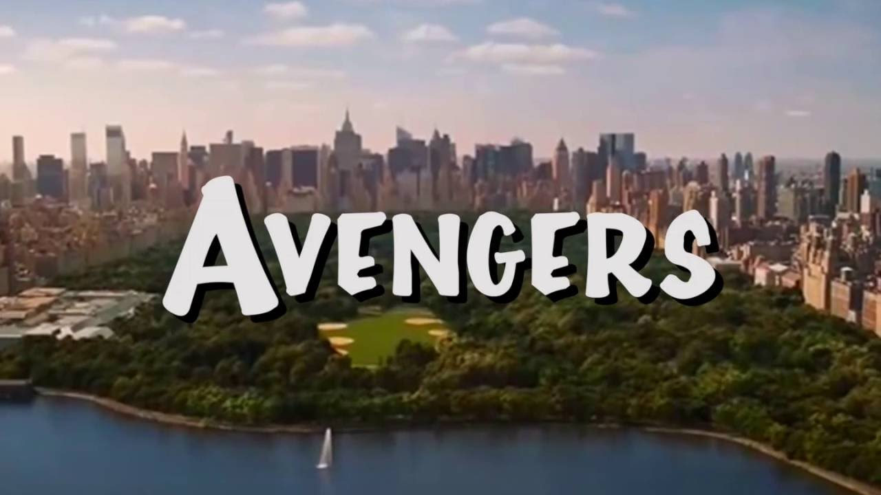 Avenger Full House TItle Screen