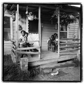 """""""Mrs. Martin's Porch,"""" © O. Rufus Lovett"""