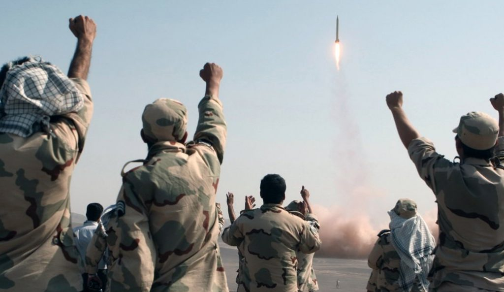 iran tests missiles