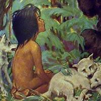 Mowgli from The Jungle Book