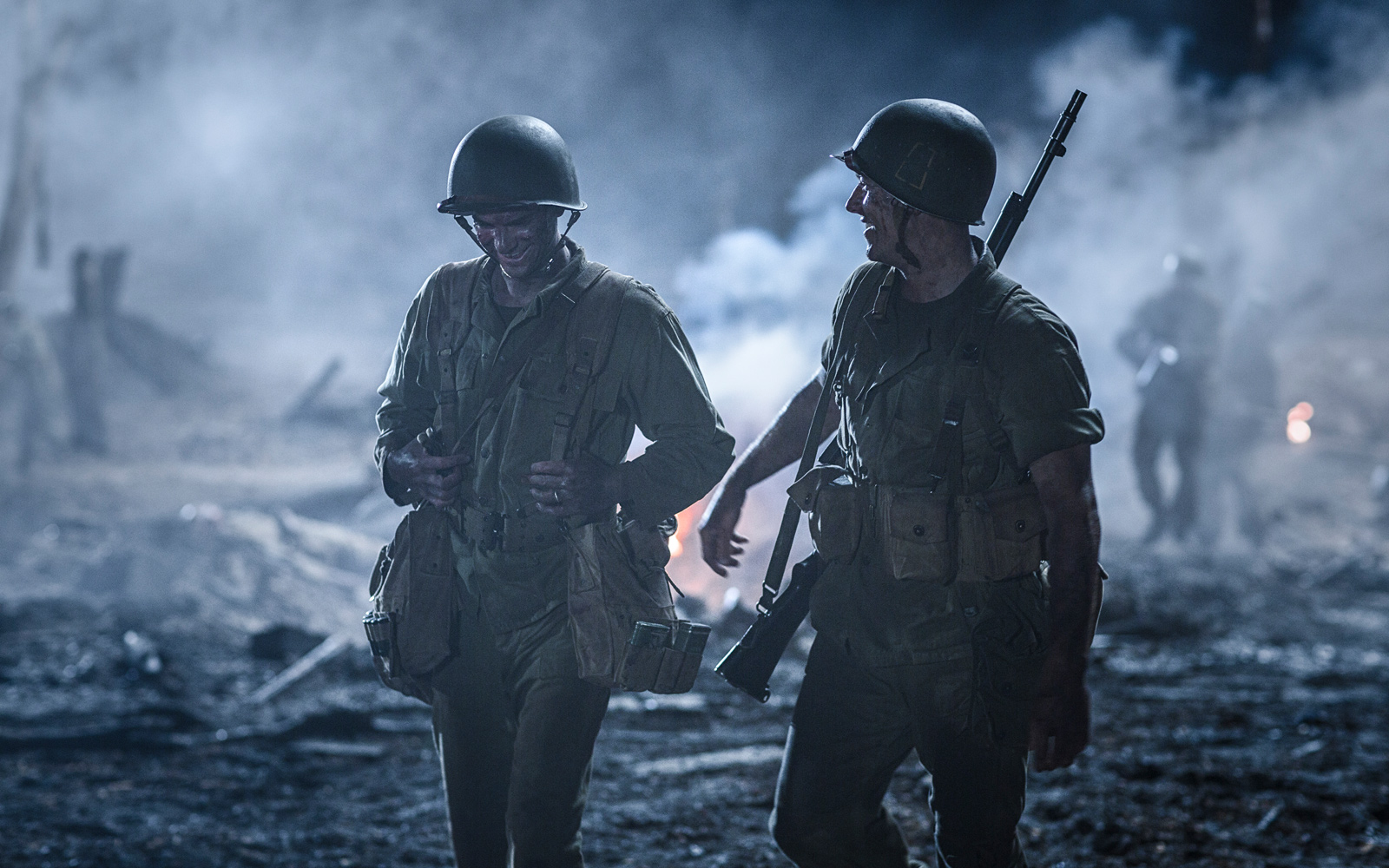 Hacksaw Ridge Promotes Peace Making In The Midst Of Violence Scenes