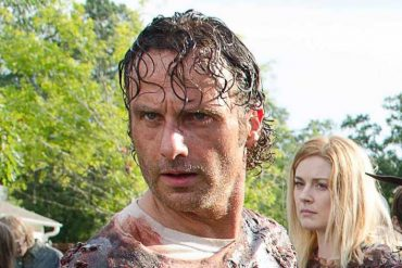 Rick in The Walking Dead