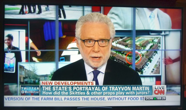 Wolf Blitzer in the Situation Room