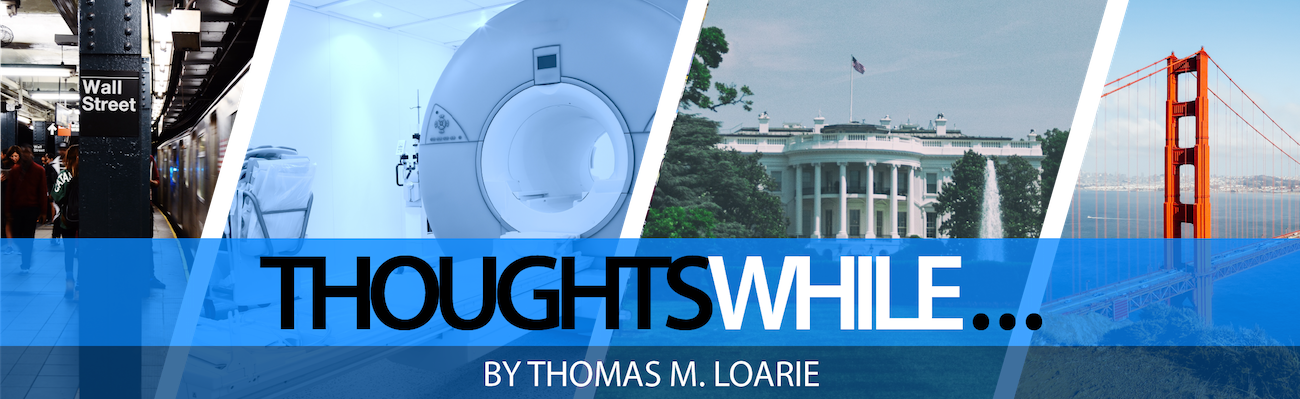Thoughts While by Thomas A. Loarie