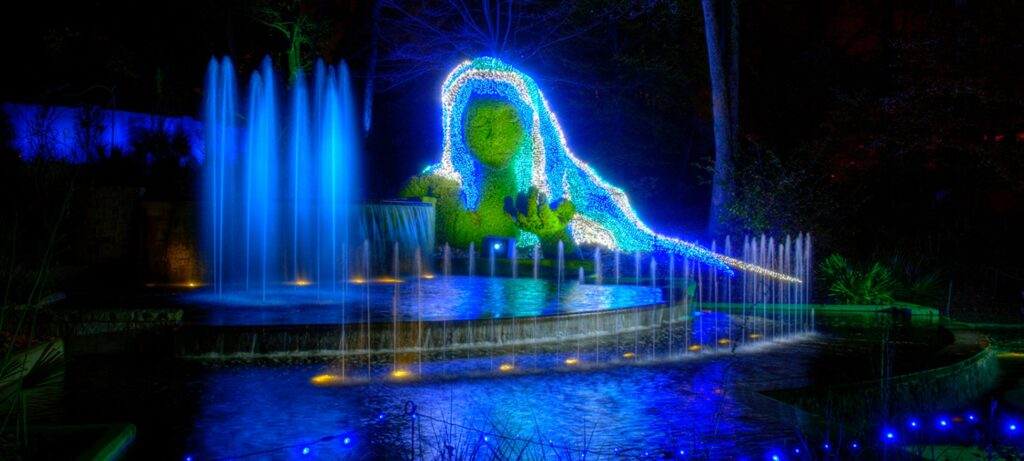 Garden Lights Holiday Nights Encores For Sixth Season