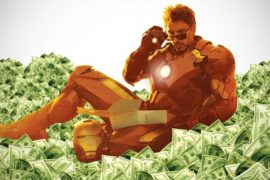 Geek - Tony Stark - Money Pile