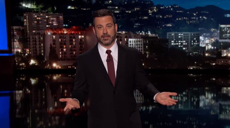 Jimmy Kimmel Thanks Children S Hospital La For Saving