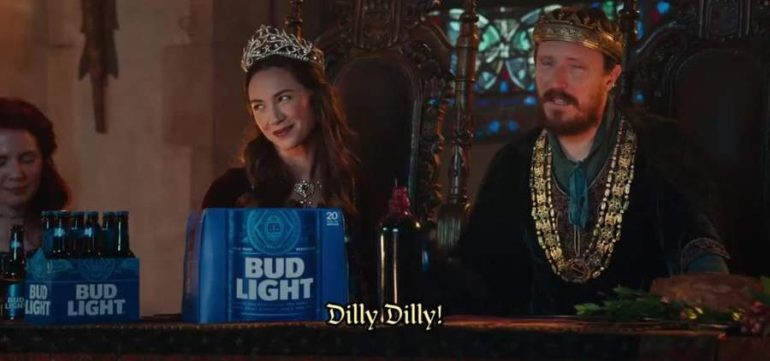 The genius of the dilly dilly commercial aloadofball Image collections