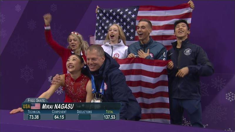Mirai Nagasu S Olympic Win Is Testament To American Spirit