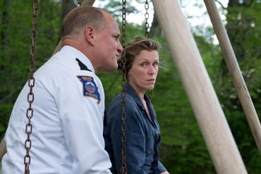Frances McDormand and Woody Harrelson in THREE BILLBOARDS